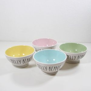 Rae Dunn Jelly Bean Easter Holiday bowl set 4